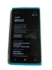 L(0)(0)K Video description Nokia Lumia 900,works,AT&T,16gb
