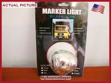 SET OF 2,CLEAR,MARKER LIGHT,BULB R40,12V,35W,CLAM SHELL TYPE,HEAT RESISTANT