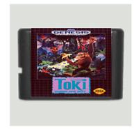 Toki 16 bit  MD Game Card For Sega Mega Drive For Genesis
