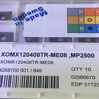 SECO XOMX120408TR-ME08 MP2500 carbide inserts 10pcs