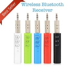Wireless Bluetooth Receiver Audio Auxiliary Adapter 4.1 3 5mm Car Handsfree Aux