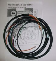 IMPIANTO ELETTRICO ELECTRICAL WIRING MOTO GILERA B 300 EXTRA + SCHEMA ELETTRICO