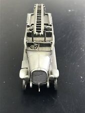 """NIB Franklin Mint Pewter Fire Engines of the World Magirus """"ULM"""" Autospritze"""