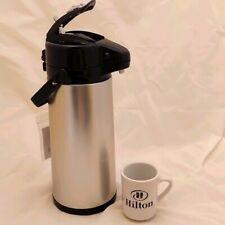 Oggi Pump Dispenser Hotcold Coffee Water Milk Beverage Server