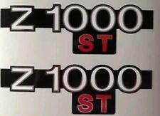 Kawasaki Z1000ST - KZ1000ST Panneau Latéral Kit de Décalcomanie