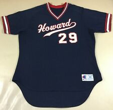 Vintage Howard College-NCAA baseball Champion Jersey Size48
