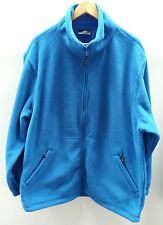 Uneek Classic Blue Fleece Jumper Size XL Zip-up <C2575
