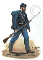 81st Pennsylvania Volunteer Infantry 11 X 14 American Civil war art print