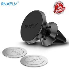 Raxfly Universal 360° KFZ Auto Halterung Halter Handy Magnet Lüftungsgitter
