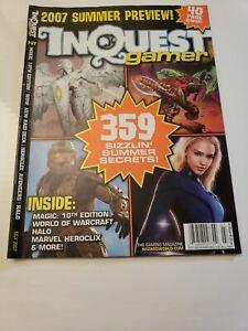 INQUEST GAMER MAGAZINE  #147 July 2007