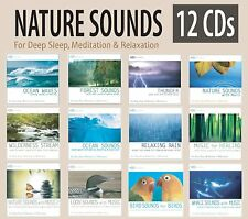 """""""Sounds of Nature"""" 12 CD Box Set -Nature Sounds for Relaxation & Deep Sleep NEW!"""