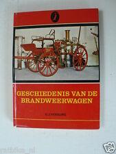 HISTORY FIRE TRUCKS,BRANDWEER DEN HAAG,AHRENS-FOX 5,SCANIA-VABIS,DAF,AUSTIN,185