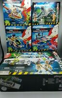 Lot of 5 PLAYMOBIL 9220 Ghostbusters ECTO-1 Vehicle Car Plane Cycle Terror Dogs