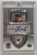 Derek Boogaard Signed Upper Deck Wild Rookie Card Rc #144 Auto Sp 150/249 Mint