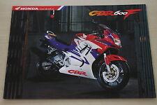 170272) Honda CBR 600 F Prospekt 09/1997