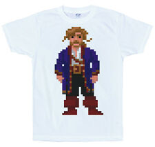 Guybrush Threepwood T Shirt, píxel, Secret of Monkey Island, 8-bit, juego Retro