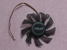 75mm ASUS 9600 9800 GT HD4850 HD4870 GTS250 Fan Replacement 3Pin R128015SH R63