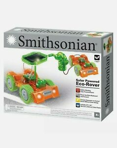 Smithsonian Eco Rover Science Kit Solar Powered Kids Educational Toy - STEM