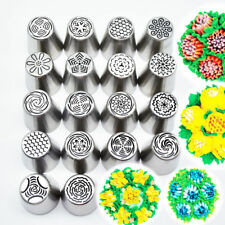 18 Pcs/set Hot Sell Russian Icing Piping Nozzles Pastry Tips Fondant Cake Decor