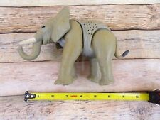 7 Inch Plastic Elephant Figure with sound Animal Africa Toy - Brand Unknown