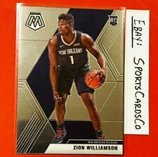 2019-20 Mosaic Basketball ZION WILLIAMSON #209 Rookie Card - MINT SHARP