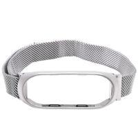 Smart Watch Strap Metal Stainless Steel Strap for Xiaomi Mi Band 4 Wrist St B7A2