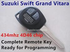Suzuki Swift Grand Vitara Remote Control Complete Key ready for programming