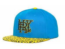 Hurley Major Leagues Leopard Print Style Brim Adjustable Snapback Cap Hat