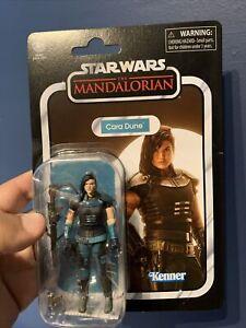 "Star Wars The Mandalorian Cara Dune 3.75"" Vintage Collection Box Damsge"