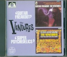 The Ventures - Guitar Freakout / Super Psychedelics 2 Albums On 1 Cd Perfetto