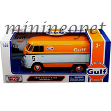 MOTORMAX 79649 VW VOLKSWAGEN TYPE 2 T1 DELIVERY VAN BUS 1/24 GULF OIL #5