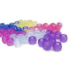 100 Pcs of Loom Color Changing Magic Beads Loom Band Accesory