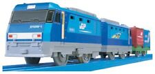 TAKARA TOMY PLARAIL S-52 JR FREIGHT CLASS EH200 BLUE THUNDER NEW from Japan F/S