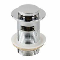 8cm Bonde Pop-up Automatique Pr Evier Lavabo Sans Trop-plein T7V5 J01