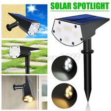 20LED Solar Spotlight Garden Lawn Lamp Landscape Street Light Park Yard