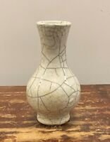 Crackle glaze vase.  Ming - Qing Period.