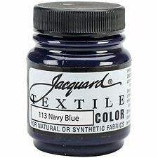 JACQUARD Products Navy Blue-Tessile Color Paint, Acrilico, multicolore