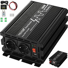 Power Inverter 1000W 24V Onda sinusoidale modificata 230V Durevole multifunzione