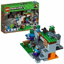 Bâtiments LEGO Minecraft 21141 Cave Zombie