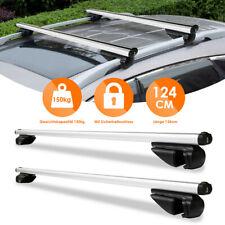 Relingträger Alu Abschließbar Grundträger L124 Auto Dachträger Universal