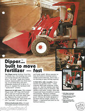 Equipment Brochure - Mobility - Dipper - Tractor Loader 11/85 - Ver 1 (E3203)