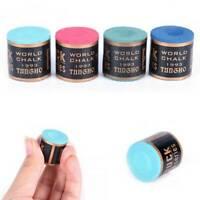 New Billiard Chalks Pool Cue Stick Chalk Snooker Billiard Accessories 4 Color UK