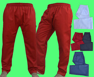 Excellent Quality Chef Trousers Pant with 3 Pockets available Different Colours