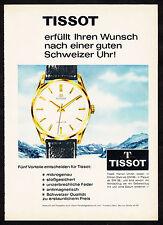 3w02391/ Alte Reklame von 1961 - TISSOT Herren Uhren - Frankfurt/Main