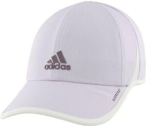 NEW! adidas Women's AEROREADY UPF 50 Superlite Cap/Hat, PURPLE TINT, #5149532