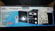 Stereo Musikanlage mit CD-Player Fernbedienung Digitalanzeige UKW MW Radio Retro