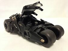 "THE  DARK KNIGHT BATMOBILE, TUMBLER 8"" DIECAST 1:24  SCALE  METALS   JADA TOYS"