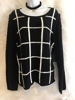 Size Medium NWT Wild Pearl Long Sleeve Cowl Neck Pullover Junior Sweater