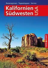 Schmidt-Brümmer, H: Reiseführer Kalifornien & Südwesten USA von Horst Schmidt-Brümmer und Carina Sieler (2016, Kunststoffeinband)