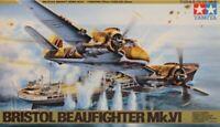 Tamiya 1:48 Bristol Beaufighter Mk.VI Plastic Aircraft Model Kit #61053U